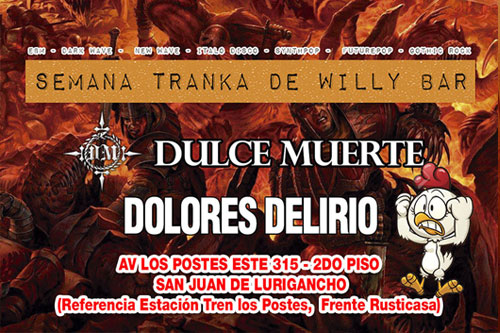 Willy bar - Portada de Evento para Facebook